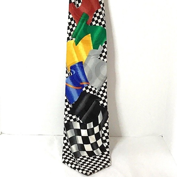 dcd00a511503 Ralph Marlin Accessories | Race Track Necktiecar Racing Flags | Poshmark